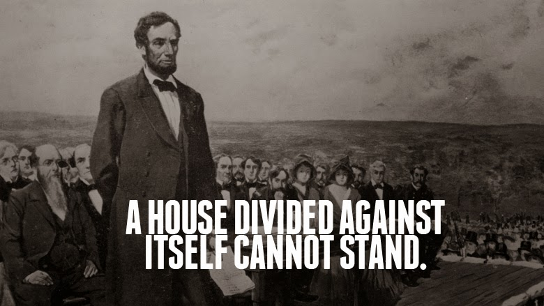 a house divided cannot stand quote 1